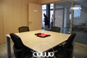 Sala riunioni al Legnano Coworking