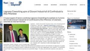 TurismoSempione parla di LegnanoCoworking