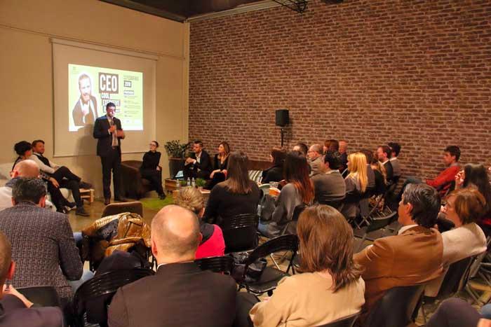 CEO allo spazio eventi coworking Legnano