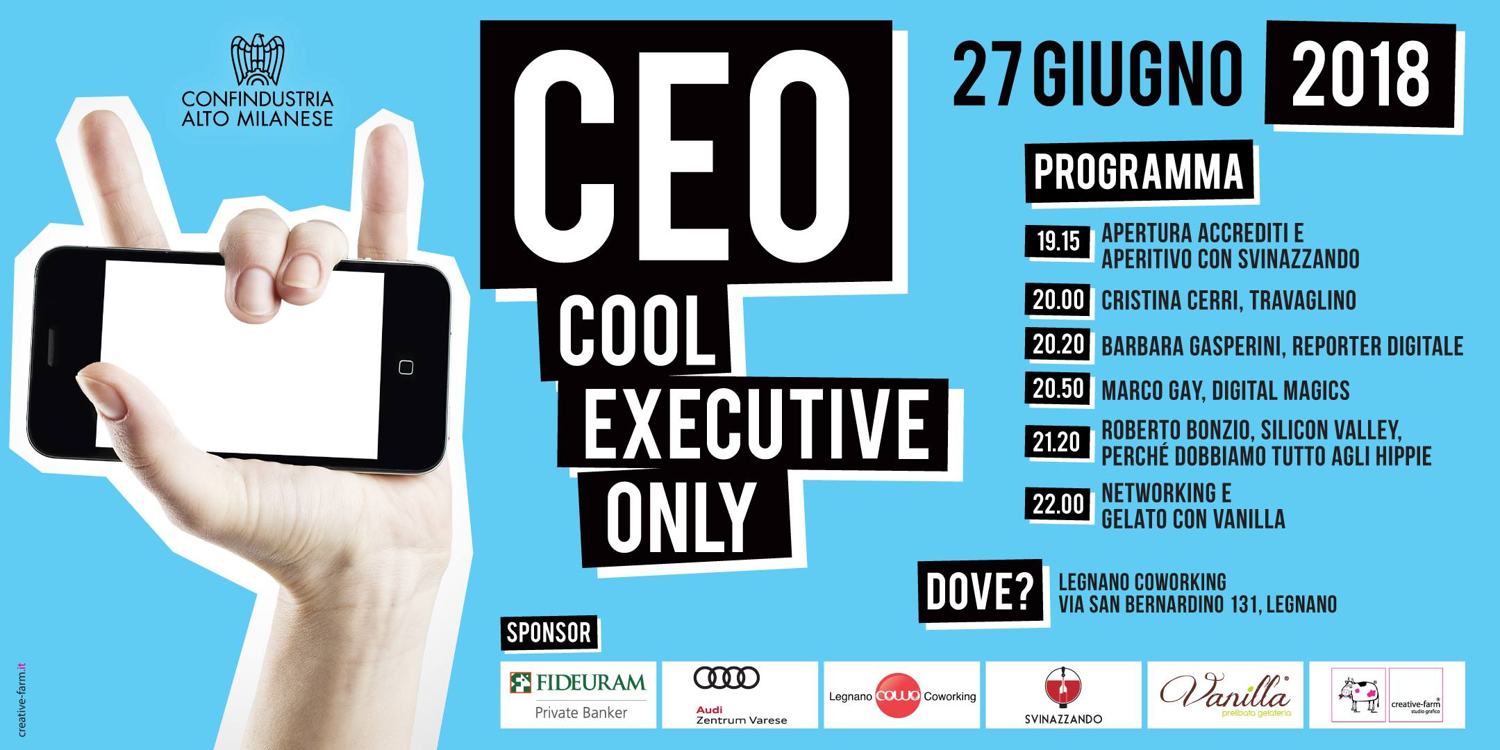 CEO Cool Executive Only a Legnano