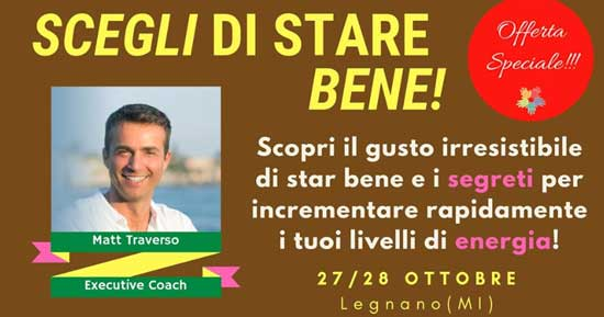Workshop Stare Bene a LegnanoCoworking
