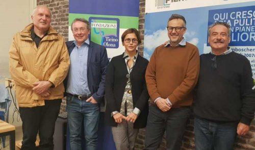 Relatori Corso giornalismo glocal a Legnano Coworking